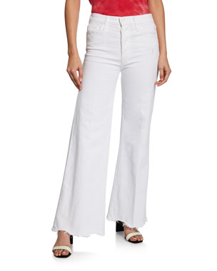c7575a39febf MOTHER The Tomcat Roller Chew Wide-Leg Jeans