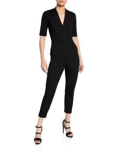 Tory Short-Sleeve Catsuit
