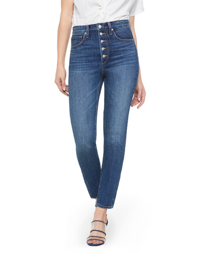 WeWoreWhat X Joe's Danielle High-Rise Vintage Straight Jeans