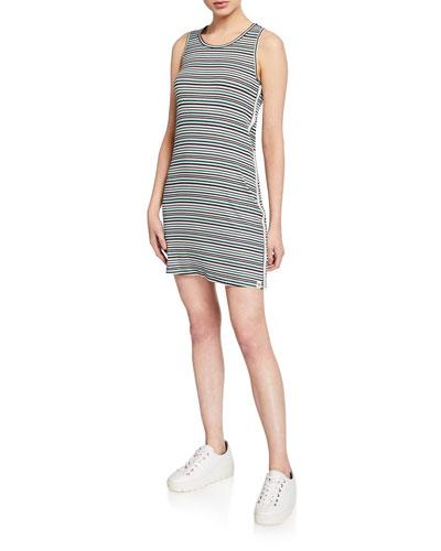 La Plage Striped Tank Dress