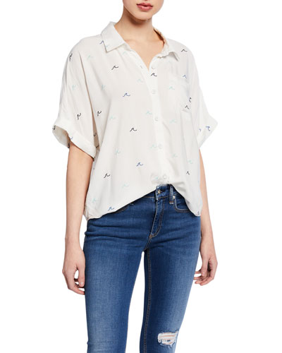 Summer Time Button-Down Shirting
