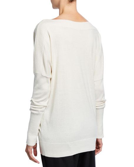 Elie Tahari Angie Boat-Neck Sweater