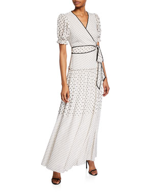 484ab88844b22 Diane von Furstenberg Celestine Maxi Wrap Dress