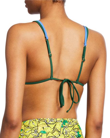Diane von Furstenberg Marion Triangle Bikini Top