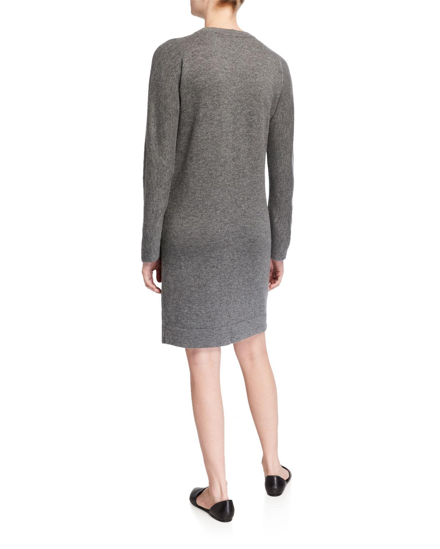 Crewneck Raglan Sleeve Dress by Vince