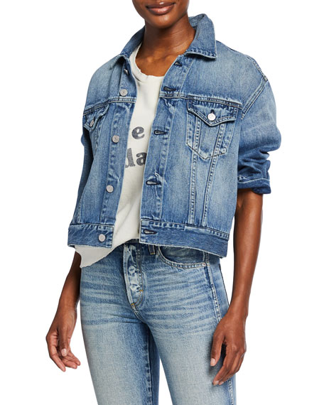 Amo Denim Jackets LULU DENIM JACKET