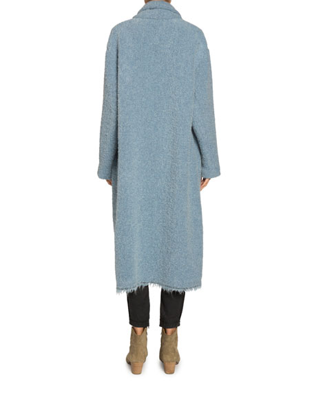 Etoile Isabel Marant Faby Wool-Alpaca Long Coat