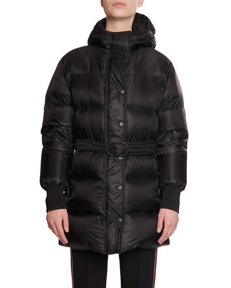 Kenzo Long Belted Puffer Jacket