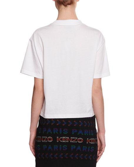 Kenzo Logo Sport Boxy Short-Sleeve T-Shirt
