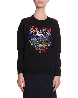 f7bc6d66e Kenzo Gradient Tiger Logo Pullover Sweatshirt