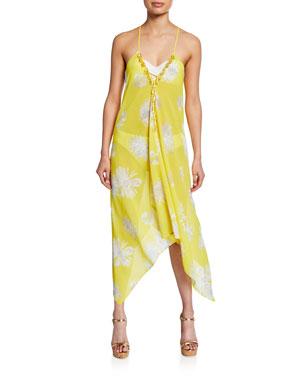 fc3309c8b06da Ramy Brook Kym Printed Coverup Dress