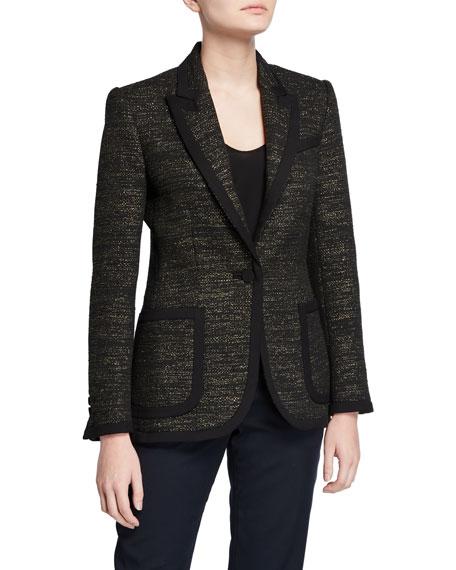 Equipment Bodanne Tweed Blazer
