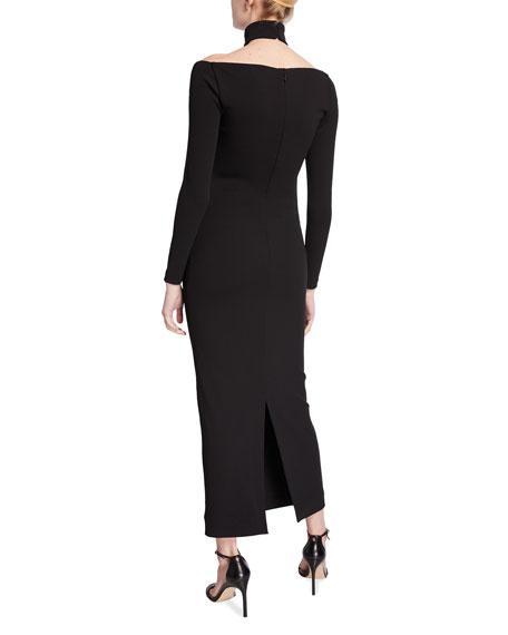 Solace London Grayson Halter Midi Dress