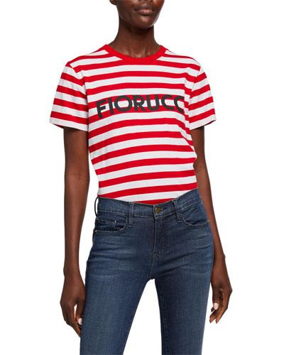 Classic Striped Logo T-Shirt