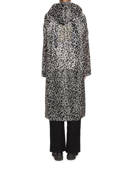 Proenza Schouler PSWL Printed Long Raincoat