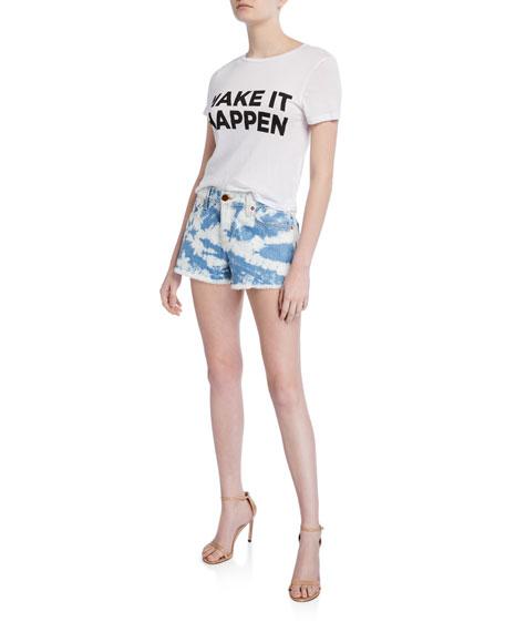 ALICE + OLIVIA JEANS Amazing Mid-Rise Vintage Shorts