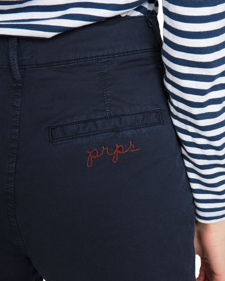 PRPS Double-Pleat Chino Shorts