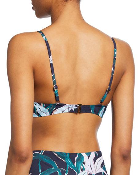 Tory Burch Printed Triangle Bikini Top