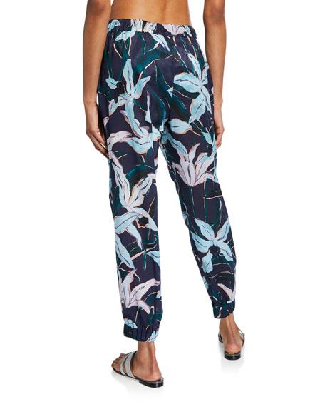 Tory Burch Printed Beach Jogger Pants