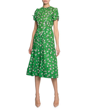 45f134f08 Marc Jacobs Sofia Loves The '40s Floral-Print Midi Dress