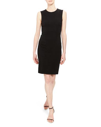 Fitted Sleeveless Short Dress