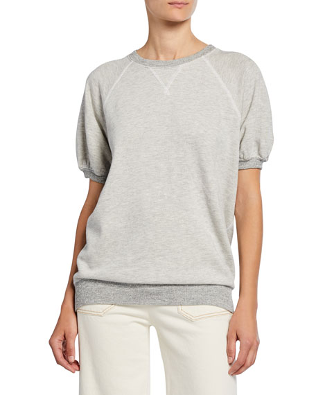 The Great The Puff Sleeve Sweatshirt