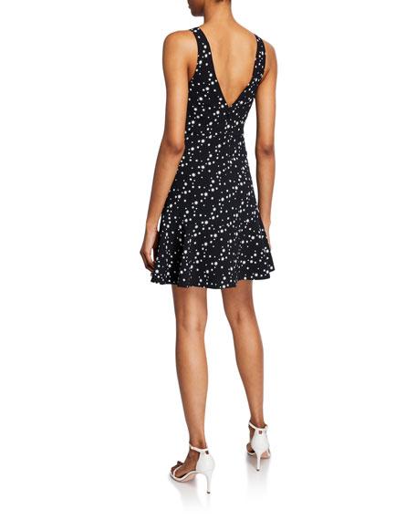 Jonathan Simkhai Star-Print Sleeveless Short Dress