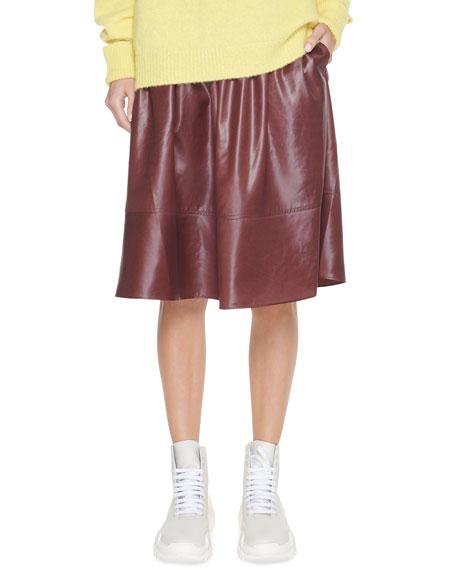 Tibi Liquid Drape Pull-On Skirt