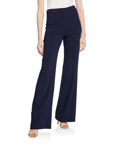 Jalisa High-Waist Fitted Pants