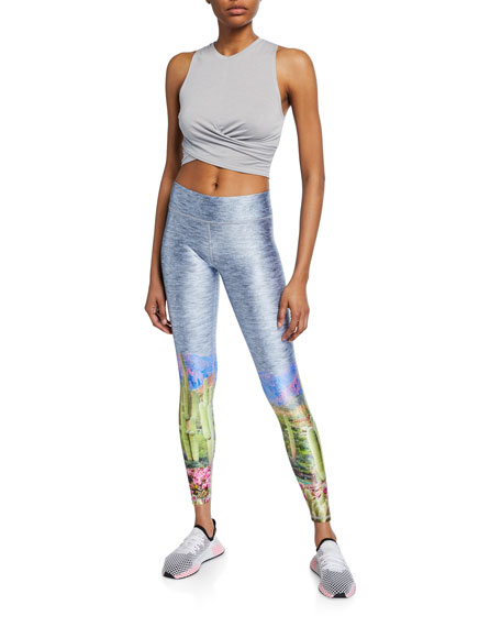 Terez High-Waist Sunset Canyon Leggings