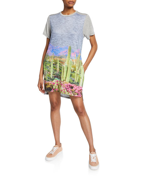 Terez Sunset Canyon Mini Summer Dress