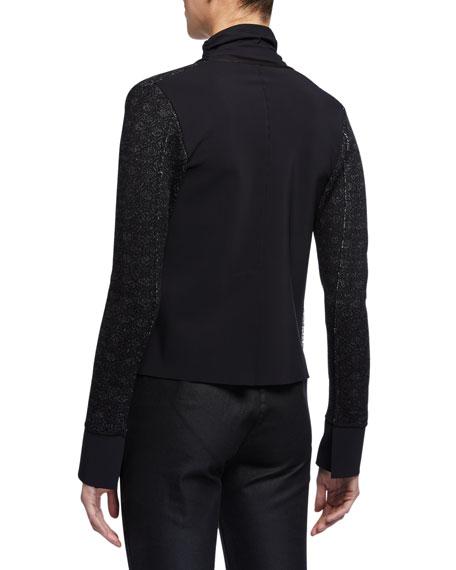 Chiara Boni La Petite Robe M Neringa Jacquard Jacket