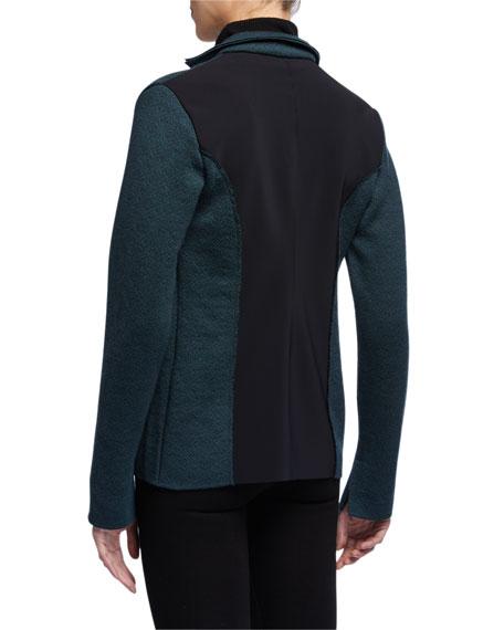Chiara Boni La Petite Robe M Ferebee Wool Jacquard Jacket
