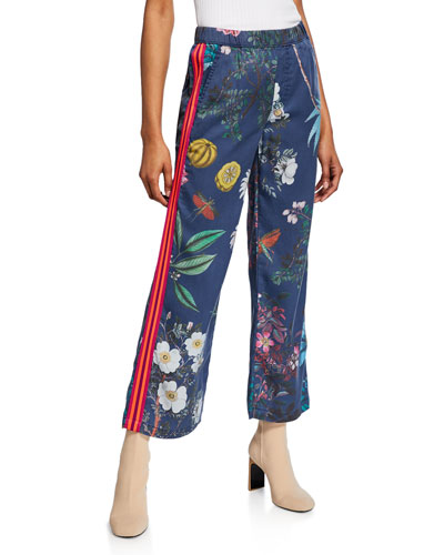 The Quickie Greaser Ankle Printed Pants