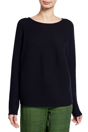 Christian Wijnants Kumi Boat-Neck Pullover Sweater