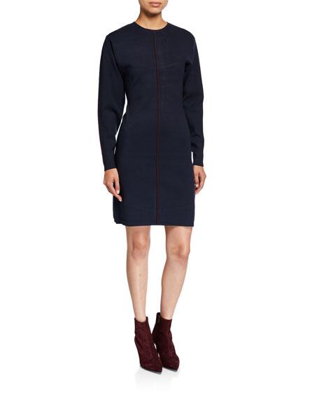 Victoria Victoria Beckham Drop-Sleeve A-Line Dress