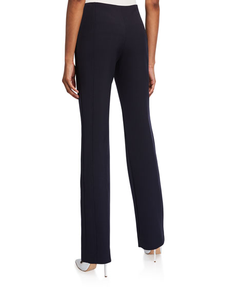 Image 2 of 3: Victoria Victoria Beckham Paneled Straight-Leg Trousers