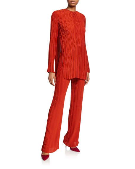 Victoria Victoria Beckham Pleated Trousers