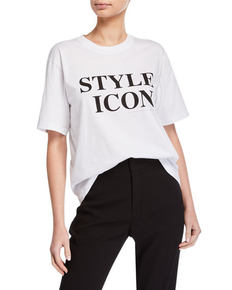 Victoria Victoria Beckham Style Icon Short-Sleeve Tee