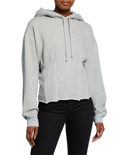 The Pintuck Pullover Hoodie