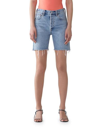 Rumi Mid-Length Cutoff Shorts