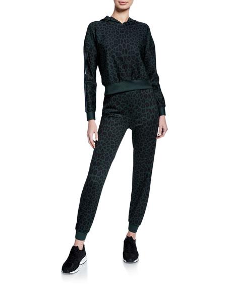 Ultracor Amina Leopard-Print Jogger Pants
