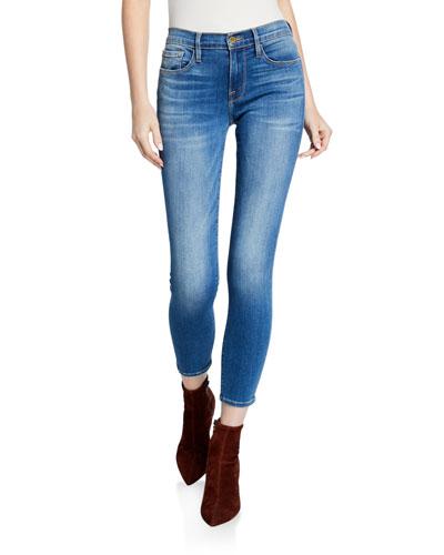 Le Skinny De Jeanne Cropped Ankle Jeans