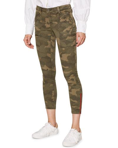 Park Camo-Print Skinny Pants