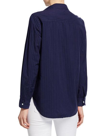 Frank & Eileen Striped Long-Sleeve Button-Down Cotton Shirt