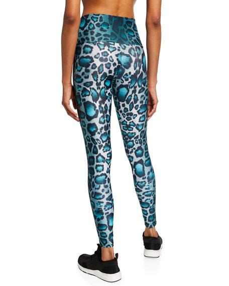 Onzie High-Rise Leopard-Print Leggings