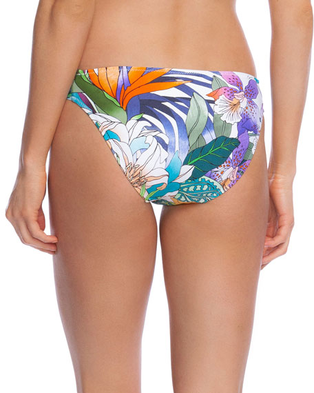 Trina Turk Amazonia Shirred Hipster Bikini Bottom