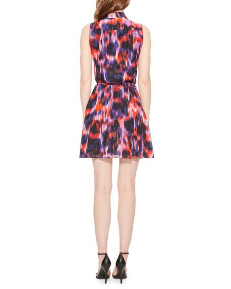 Parker Jemma Printed Sleeveless Short Dress