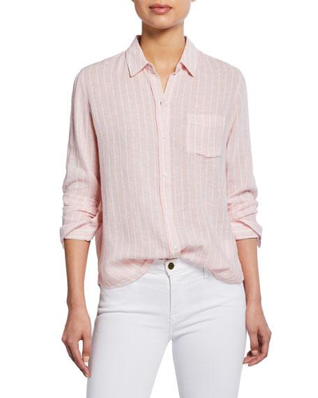 Rails Charli Striped Button-Front Shirt