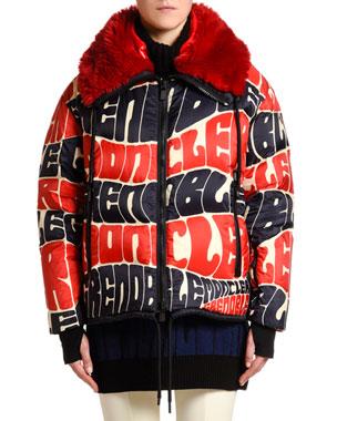 70248d68d46 Moncler Women's Jackets, Coats & More at Neiman Marcus
